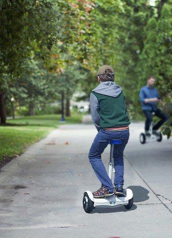 2 roues scooter motorisé