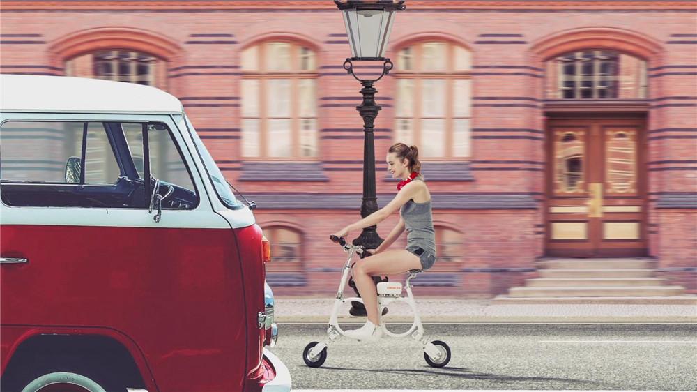 électrique pliant examen vélo