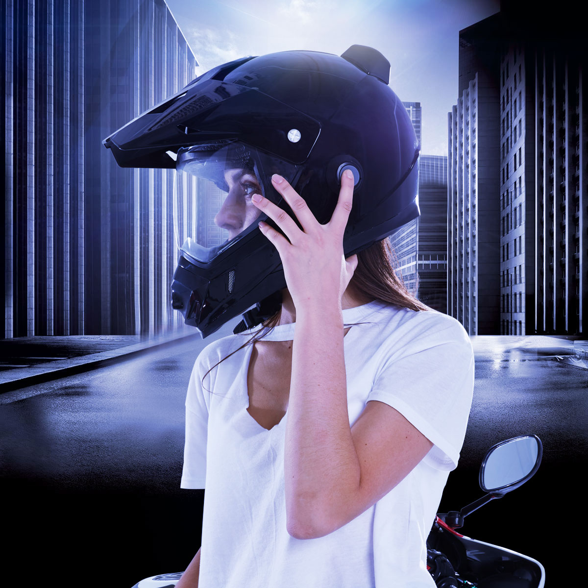 Airwheel C8 helmet