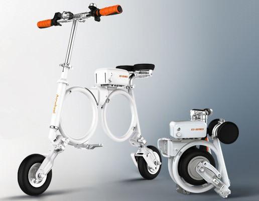 Folding Smart Bike