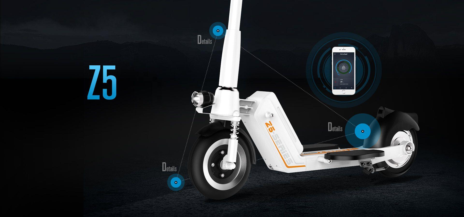 Z5 2-roues scooter électrique