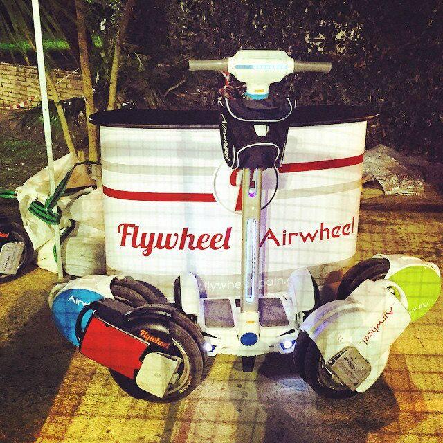 Un trajet sûr et fiable de Airwheel électrique auto-équilibrer scooter