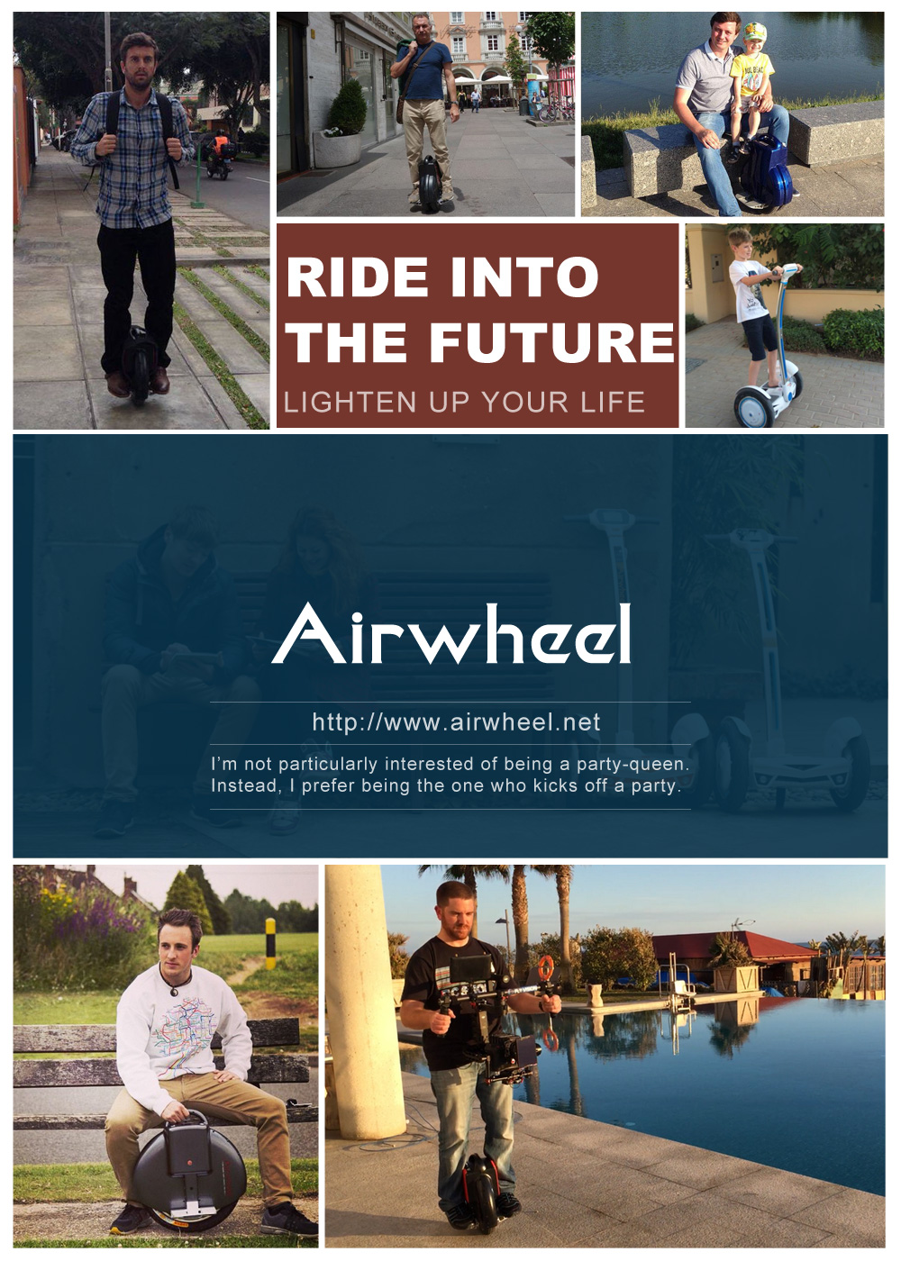 auto-équilibrer scooter électrique, Airwheel