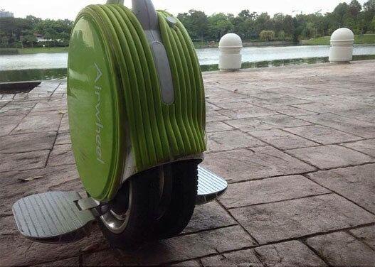 Airwheel Q5, auto équilibrage scooter électrique