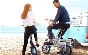 Airwheel R6 electric assist bicycle