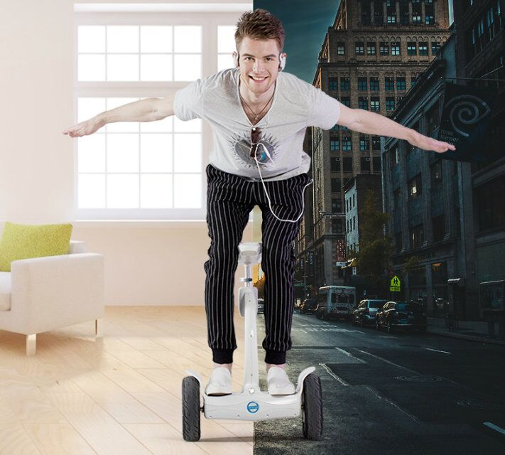 scooter auto-équilibrage